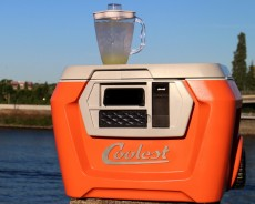 Now You Can Buy The 'Coolest' cooler with built-in blender and more!