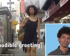 """""""Hey Baby!"""" – Men react to their girlfriends getting catcalled (VIDEO)"""