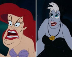 The Heroes And Villains Of Disney Replacing Their Faces